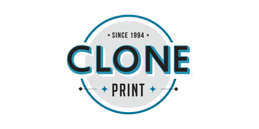 Image of the Clone print logo